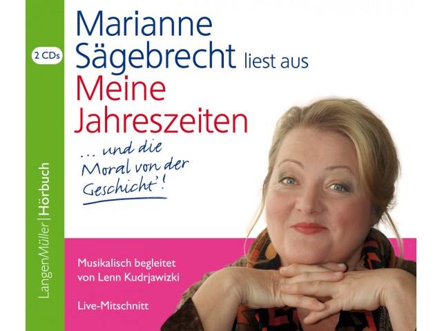 Marianne Sägebrecht liest aus Meine Jahreszeiten