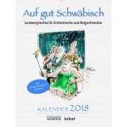 Auf gut Schwäbisch Kalender 2018