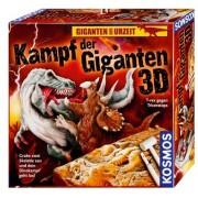Kampf der Giganten - T-rex gegen Triceratops